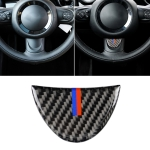 Red Blue Color Car Steering Wheel Carbon Fiber Decorative Sticker for BMW Mini R53 / R55 / R57 / R58 / R59 / R60 / R50 / R52 / F55 / F56