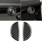 2 PCS R / F Universal Car Door Handle Carbon Fiber Decorative Sticker for BMW Mini R55 / R56 / R60 / R61 / F55 / F54 / F60
