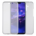 Ultra-thin Double-sided Full Coverage Transparent TPU Protective Case for Huawei Mate 20 Lite