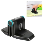 Portable Household Iron Travel Folding Mini Hanging Hot Machine,EU Plug (Black)