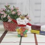 Star Shape Santa Claus Candy Jar Christmas Decoration