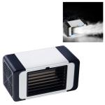 Office Household USB Mini Air Conditioning Fan Portable Desktop Air Cooler (Black)