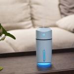 Large Capacity 320ml LED Humidifier (Blue)