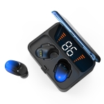 ES01 Bluetooth 5.0 Touch-controlled Wireless Stereo Bluetooth Earphone (Blue)