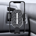 TOTUDESIGN DCTS-16 U Shield Series II Gravity Sensing Car Air Outlet Phone Holder, Suitable for 4-6.4 inch Smartphones