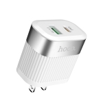 hoco C58 Prominent PD+QC3.0 Charger, US Plug (White)