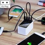 CDA30 20W 3 USB Ports + USB-C / Type-C Ports Multi-function Charger with LED Display, EU Plug