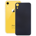 Carbon Fiber Texture Back Protective Cover for iPhone XR