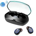 Xi11 TWS IPX6 Waterproof Bluetooth 5.0 Stereo Bluetooth Earphone with Charging Box, Support Battery Display & Summon Siri & Call (Black)