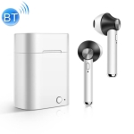 D012 TWS Bluetooth 5.0 Wireless Bluetooth Earphone with Charging Box, Support Voice Prompt & Power Display & HD Call (Black)