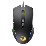 G30 USB 7-keys RGB Light Wired Optical Gaming Mouse, Cable Length: 1.4m(Black)
