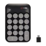 MCSaite MC-52AG USB-C / Type-C Universal Mini 18-keys Wireless Digital Keyboard (Black)