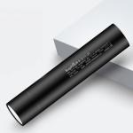 SupFire S11-H Aluminum Alloy USB Charging UV Jade Dedicated Flashlight (Black)