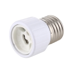2A E27 to GU10 Lamp Bases LED Light Bulb Socket Conversion Screw Lamp Holder, AC 250V