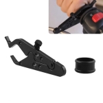 MB-OT312-BK Universal Motorcycle Modified Aluminum Throttle Control Clip Auxiliary Handle Fixed Clip Set