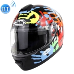 Outdoor Motorcycle Electric Car Riding HD Bluetooth Helmet, Size: XL, 61-62cm