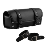 MB-OT012-BK Motorcycle Modification Accessories Universal PU Leather Waterproof Tool Bag, Size: 30.5 x 12 x 9cm