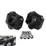 MB-MH030 Motorcycle Modification Accessories Universal 28mm Single Hole Handlebar Fixed Bracket(Black)