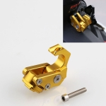 MB-GG001-G 5 PCS Motorcycle Modification Accessories Universal Aluminum Alloy Thick Foldable Helmet Hook