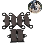 MB-OT006 6 PCS Universal Motorcycles ATV Front + Rear Brake Pad for X5 X6 X8