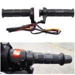 CS-203A1 Motorcycle Modified Electric Heating Hand Cover Heated Grip Handlebar, Upgrade Version