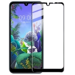 IMAK Pro Version 9H Surface Hardness Full Screen Tempered Glass Film for LG Q60