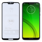 9H 5D Full Glue Full Screen Tempered Glass Film for Motorola Moto G7 Power