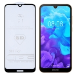 9H 5D Full Glue Full Screen Tempered Glass Film for Huawei Y5 2019 / Honor 8S
