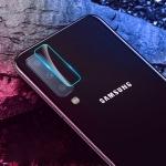 50 PCS Soft Fiber Back Camera Lens Film Tempered Glass Film for Galaxy A7 2018
