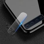 50 PCS Soft Fiber Back Camera Lens Film Tempered Glass Film for Galaxy A9 2018