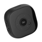H9 Mini HD 1920 x 1080P 120 Degree Wide Angle Wearable Mini DV Camera, Support Infrared Night Vision & Motion Detection Recording & 32GB TF Card(Black)