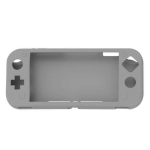 Game Host Silicone Full Coverage Protective Case with Screen Protector for Switch Lite (Grey)