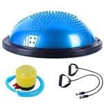 Explosion-proof Yoga Ball Sport Fitness Ball Balance Ball with Massage Point, Diameter: 60cm (Blue)