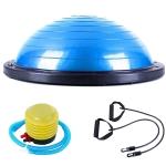 Explosion-proof Yoga Ball Sport Fitness Ball Balance Ball , Diameter: 60cm (Blue)