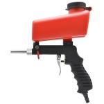 Portable Red Gravitational Sandblasting Machine Mini Rust-proof Sandblaster