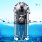 PULUZ 30m Underwater Waterproof Housing Protective Case for Ricoh Theta S Theta V & SC360, with Buckle Basic Mount & Screw