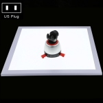 PULUZ 1200LM LED Photography Shadowless Light Lamp Panel Pad with Switch, Acrylic Material, No Polar Dimming Light, 34.7cm x 34.7cm Effective Area( Japan PSE Plug)