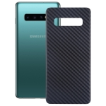 Carbon Fiber Texture Back Protective Cover for Galaxy S10