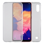 Ultra-thin Double-sided Full Coverage Transparent TPU Protective Case for Galaxy A10 / M10