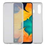 Ultra-thin Double-sided Full Coverage Transparent TPU Protective Case for Galaxy A30