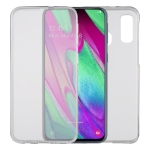 Ultra-thin Double-sided Full Coverage Transparent TPU Protective Case for Galaxy A40