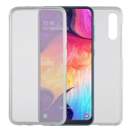 Ultra-thin Double-sided Full Coverage Transparent TPU Protective Case for Galaxy A50