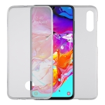 Ultra-thin Double-sided Full Coverage Transparent TPU Protective Case for Galaxy A70