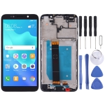 LCD Screen and Digitizer Full Assembly with Frame for Huawei Y5 (2018)(Black)