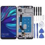 LCD Screen and Digitizer Full Assembly with Frame for Huawei Y7 (2019)(Black)