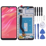 LCD Screen and Digitizer Full Assembly with Frame for Huawei Y7 Prime (2019) (Black)