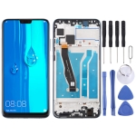 LCD Screen and Digitizer Full Assembly with Frame for Huawei Enjoy 9 Plus (Black)