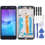 LCD Screen and Digitizer Full Assembly with Frame for Huawei Y5 (2017)