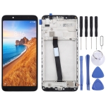 LCD Screen and Digitizer Full Assembly with Frame for Xiaomi Redmi 7A(Black)