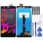 LCD Screen and Digitizer Full Assembly for BQ Aquaris E5 (0982) (Black)